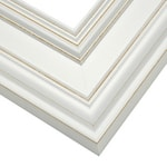 Frame: CUL9 - Country - White - Large Profile