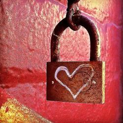 Lock/heart - Fine Art