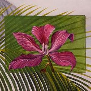 Tropical Flowers Art Competition